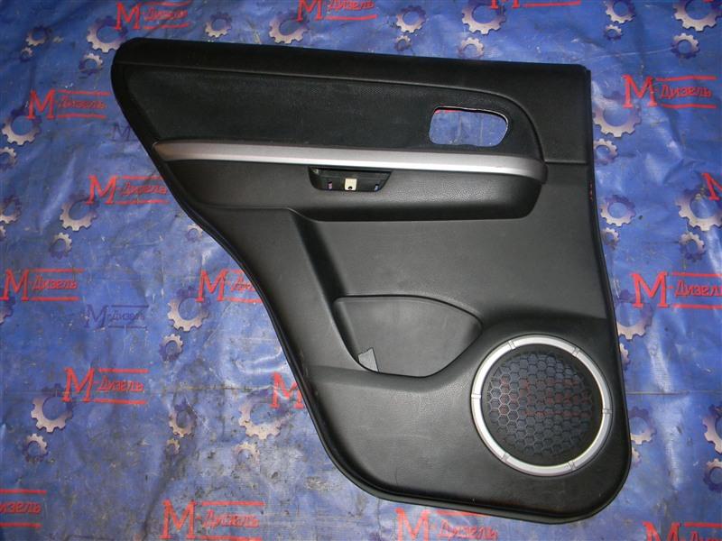 Обшивка двери Suzuki Grand Vitara TD54W J20A 2006 задняя левая