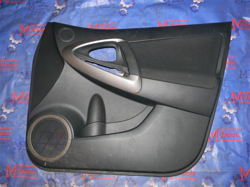 Обшивка двери Toyota Rav4 ACA31 2AZ-FE 2006 передняя правая