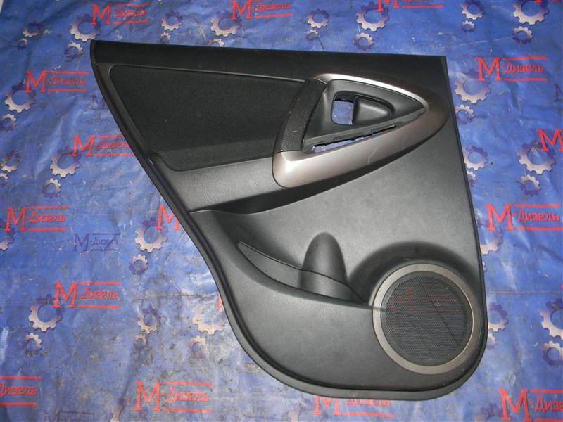 Обшивка двери Toyota Rav4 ACA31 2AZ-FE 2006 задняя левая