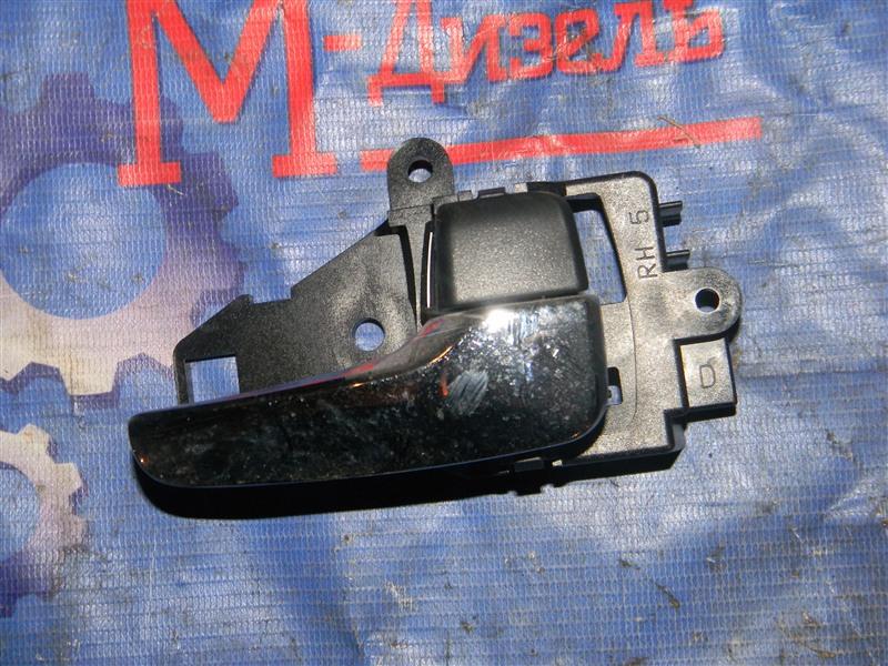 Ручка двери внутренняя Mitsubishi Outlander Xl CW5W 4B12 2005 задняя правая