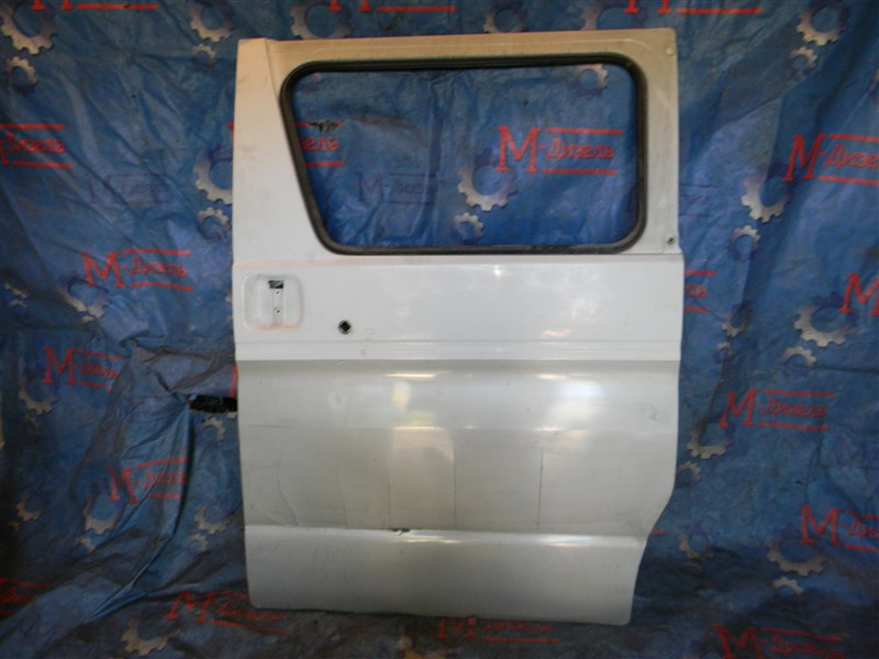 Дверь боковая Mazda Bongo Friendee SGL5 WL-T 1996 задняя левая