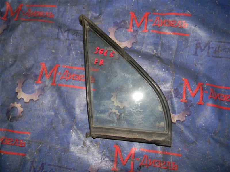Стекло боковое Mazda Bongo Friendee SGL5 WL-T 1996 переднее правое