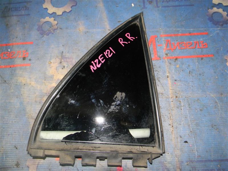 Стекло боковое Toyota Corolla NZE124 1NZ-FE 2000 заднее правое