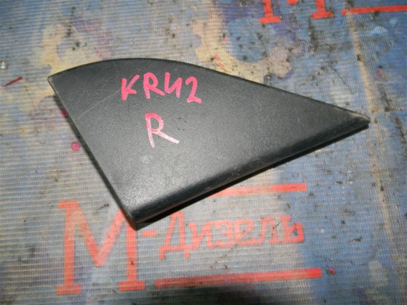 Накладка на зеркало Toyota Townace Noah KR42V 7K-E 2001 правая