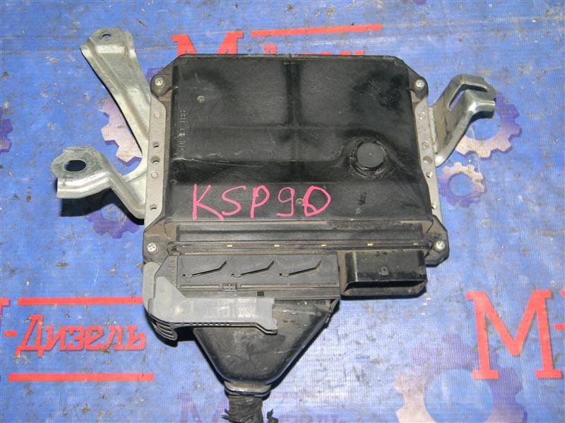 Блок управления двс Toyota Vitz KSP90 1KR-FE 2009