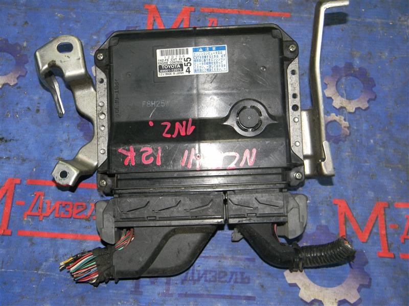 Блок управления двс Toyota Corolla Fielder NZE141 1NZ-FE 2008