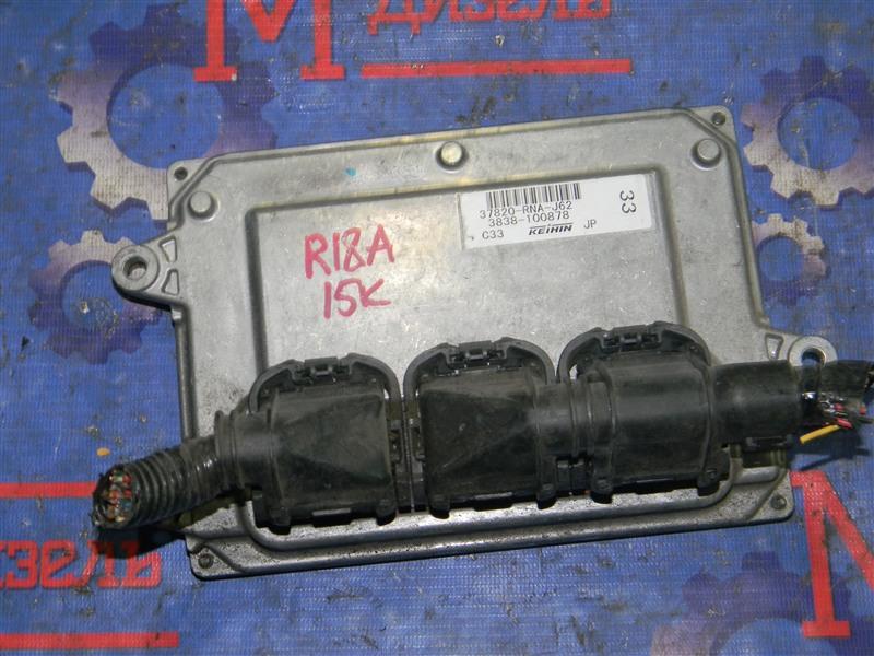 Блок управления двс Honda Civic FD1 R18A 2006