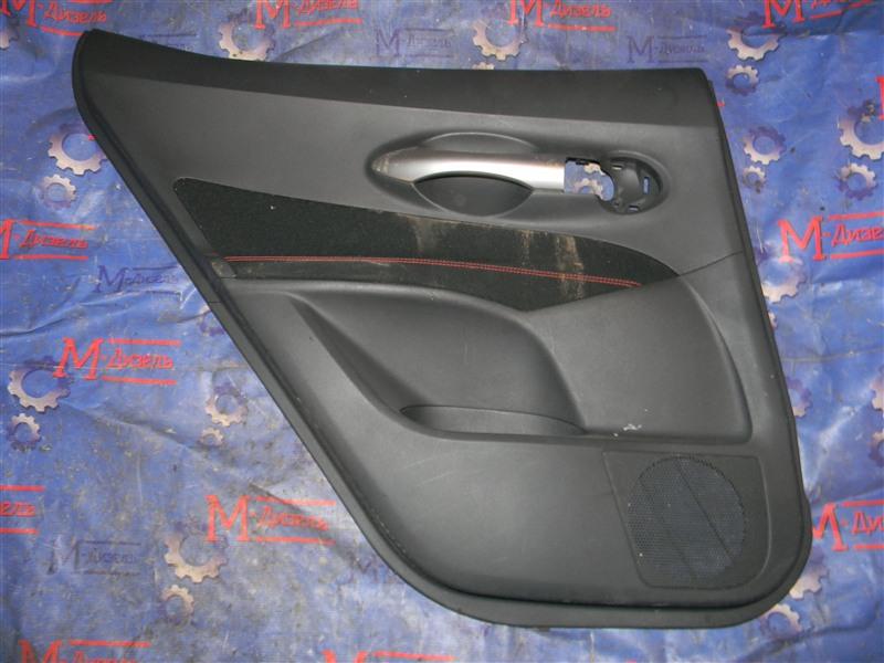 Обшивка двери Toyota Auris NZE151 1NZ-FE 2008 задняя левая