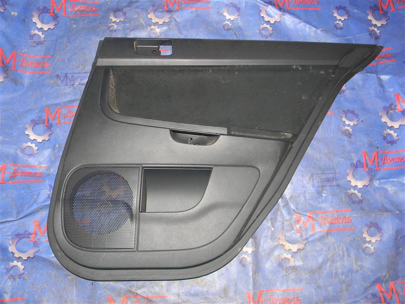 Обшивка двери Mitsubishi Lancer X CY4A 4B11 2008 задняя правая