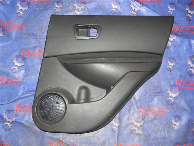 Обшивка двери Nissan Qashqai KJ10 MR20DE 2011 задняя правая