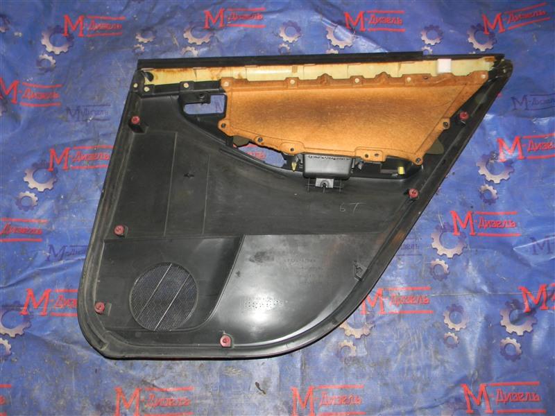 Обшивка двери Toyota Corolla NZE121 1NZ-FE 2000 задняя левая