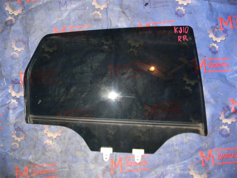 Стекло боковое Nissan Qashqai KJ10 MR20DE 2011 заднее правое
