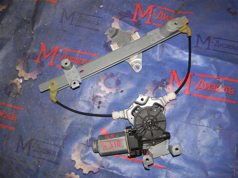 Стеклоподъемник Nissan Qashqai KJ10 MR20DE 2011 задний правый