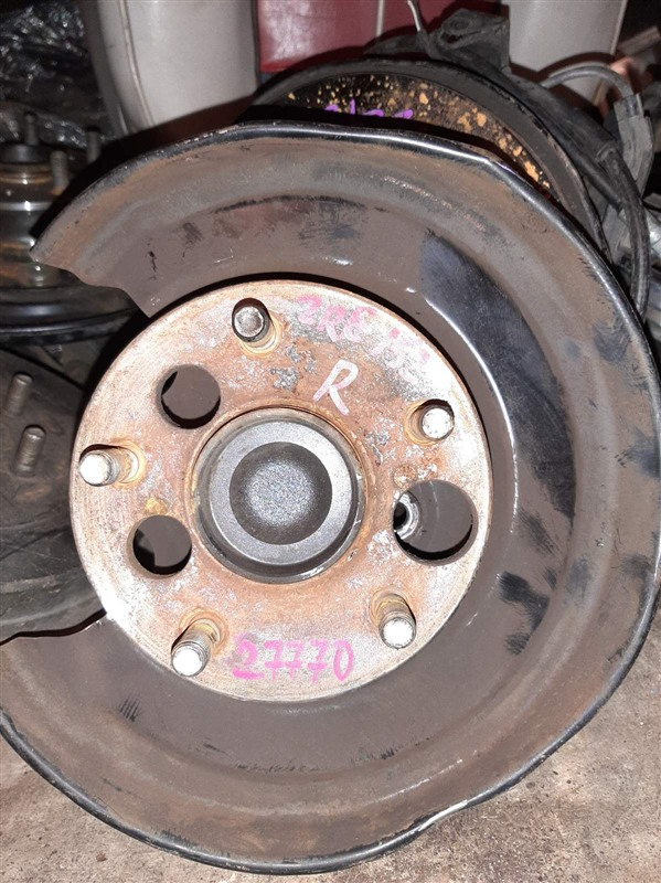 Ступица Toyota Corolla ZRE151L 1ZR-FE 2008 задняя правая