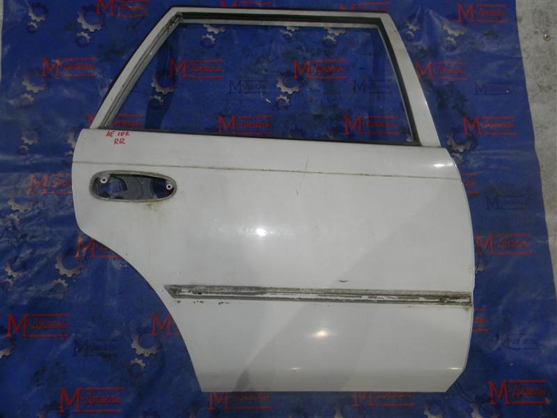 Дверь боковая Toyota Corolla AE104 4A-FE задняя правая