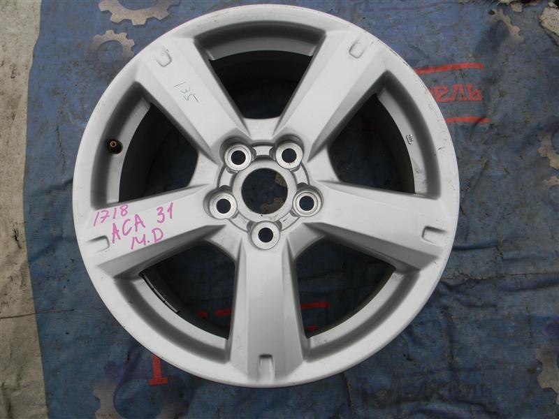 Запасное колесо Toyota Rav4 ACA31 2AZ-FE 2006
