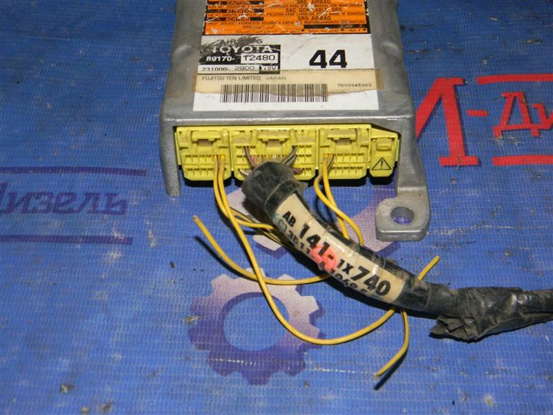 Блок управления airbag Toyota Corolla Fielder NZE121 1`NZ-FE 2003