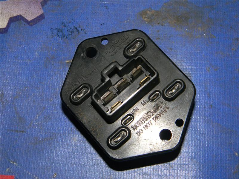 Реостат Isuzu Elf NKR71E 4HG1 2001