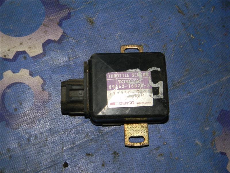 Датчик положения дроссельной заслонки Toyota Caldina ET196V 5E-FE 1993