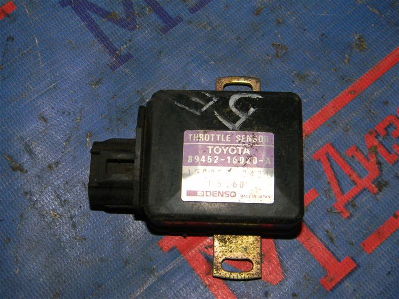 Датчик положения дроссельной заслонки Toyota Caldina ET196V 5E-FE 1995