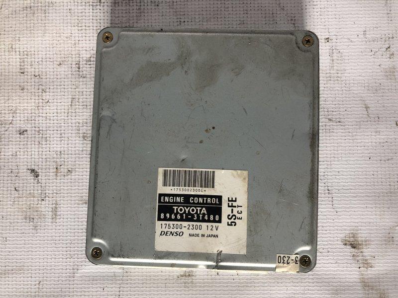 Блок управления двс Toyota Camry Gracia SXV25 5S-FE