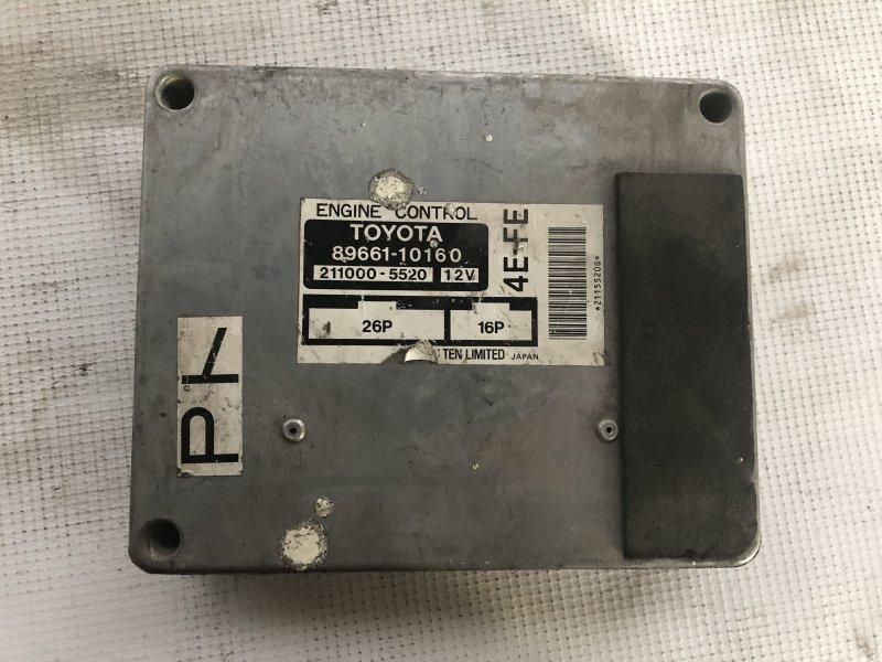Блок управления двс Toyota Starlet EP91 4E-FE