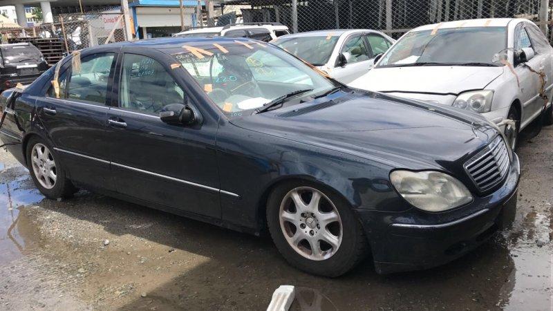 Жесткость бампера Mercedes-Benz S-Class W220 1999 передний