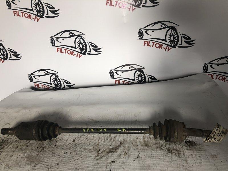 Привод Toyota Allex NZE124 1NZFE задний правый