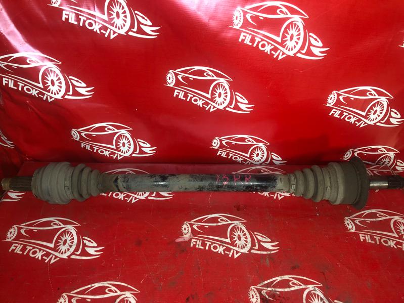 Привод Bmw X3 F25 N52B30 задний правый