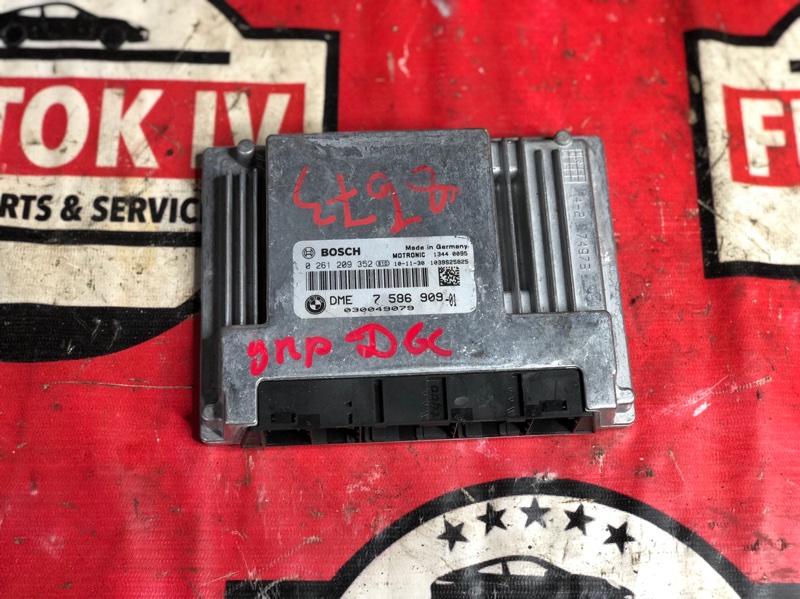 Блок управления двс Bmw 7-Series E65 N62