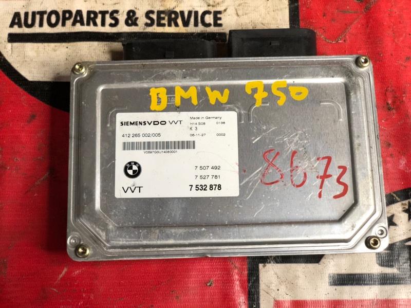 Блок управления valvetronic Bmw X5 E70 N62B48