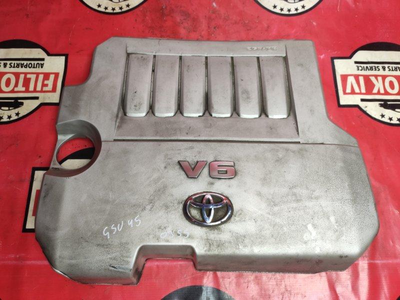 Крышка двигателя Toyota Highlander GSU45 2GRFE 2011