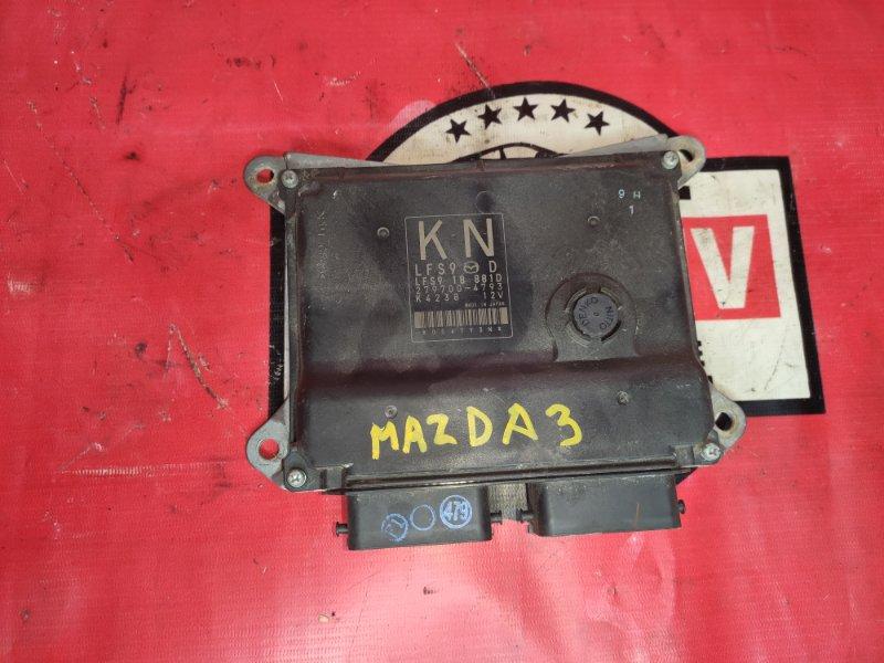 Блок управления двс Mazda Mazda3 BK LFVE