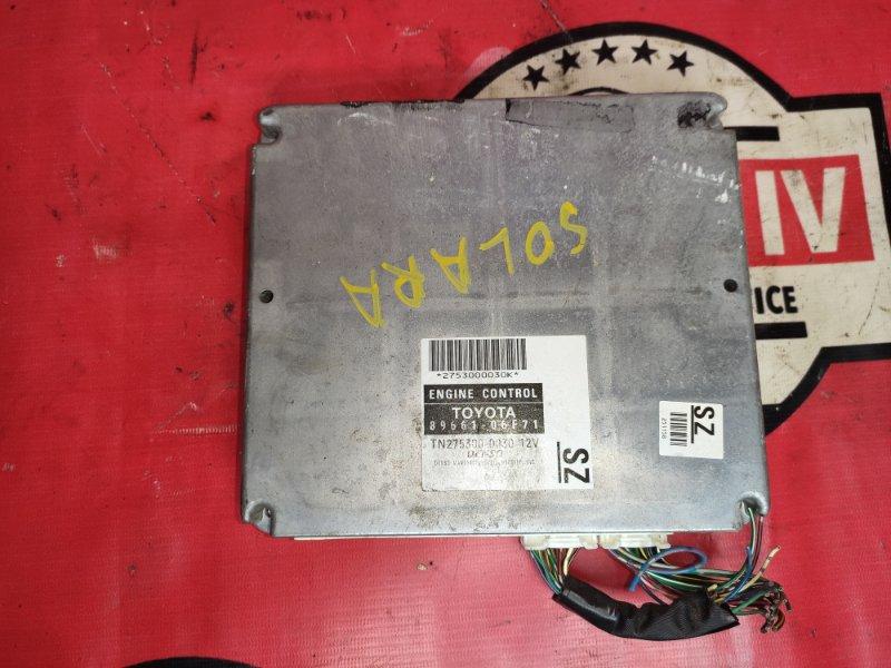 Блок управления двс Toyota Solara MCV31 3MZFE