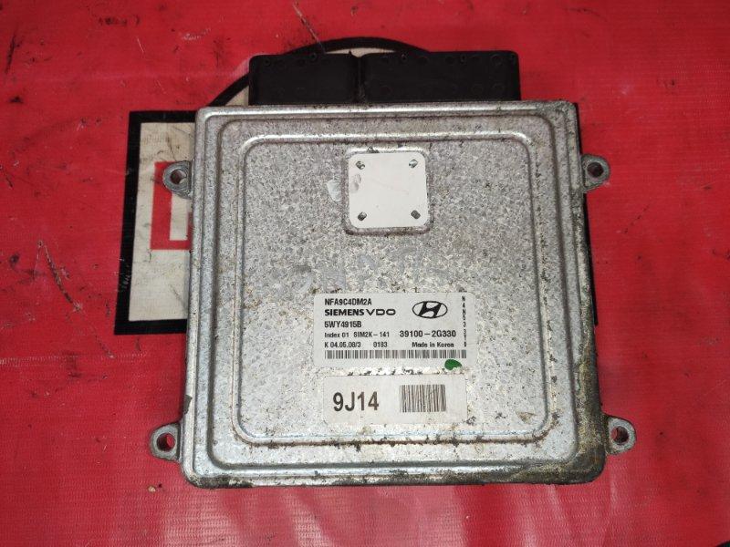 Блок управления двс Hyundai Sonata NF G4KE
