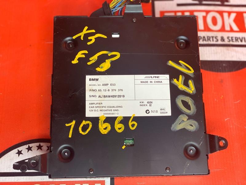 Усилитель магнитолы Bmw X5 E53
