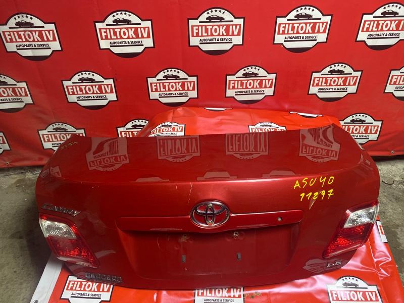Крышка багажника Toyota Camry ASV40 2GRFE