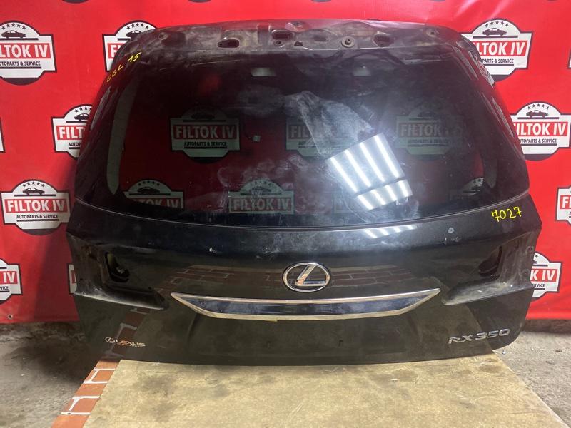 Дверь багажника Lexus Rx350 GGL15 2GRFE