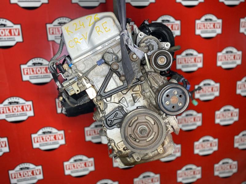Двигатель Honda Cr-V RE7 K24Z6
