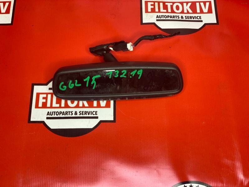 Зеркало заднего вида салонное Lexus Rx350 GGL15 2GRFE