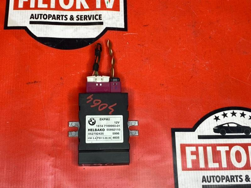 Блок управления топливным насосом Bmw X1 E84 N52B30