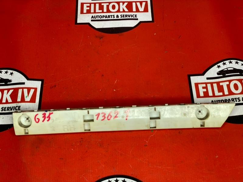 Кронштейн крепления бампера Infiniti G35 V36 VQ35HR задний правый