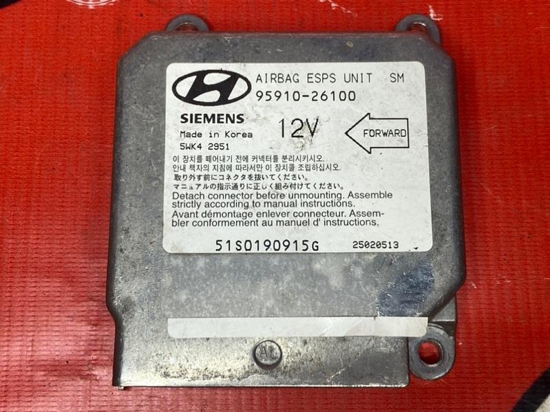 Блок управления airbag Hyundai Santa Fe SM G6BA