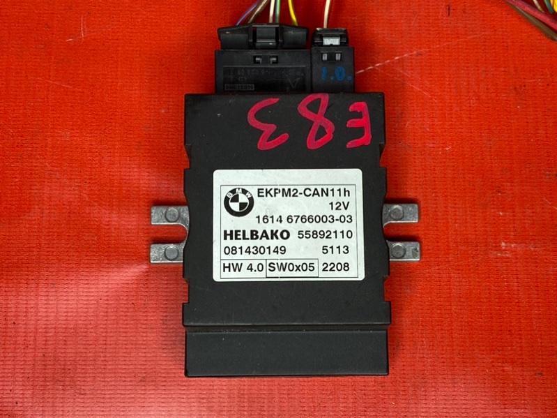Блок управления топливным насосом Bmw X3 E83