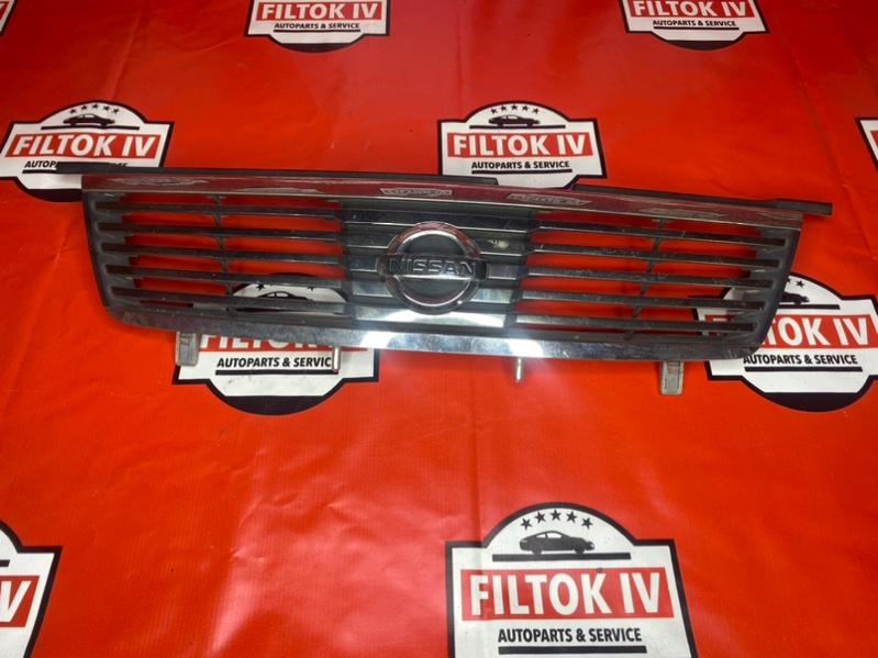 Решетка радиатора Nissan Sunny B15 QG13DE 2004