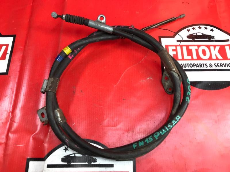 Тросик ручника Nissan Pulsar FN15 правый