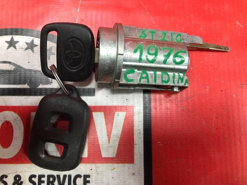 Замок зажигания Toyota Caldina ST210 3SFE