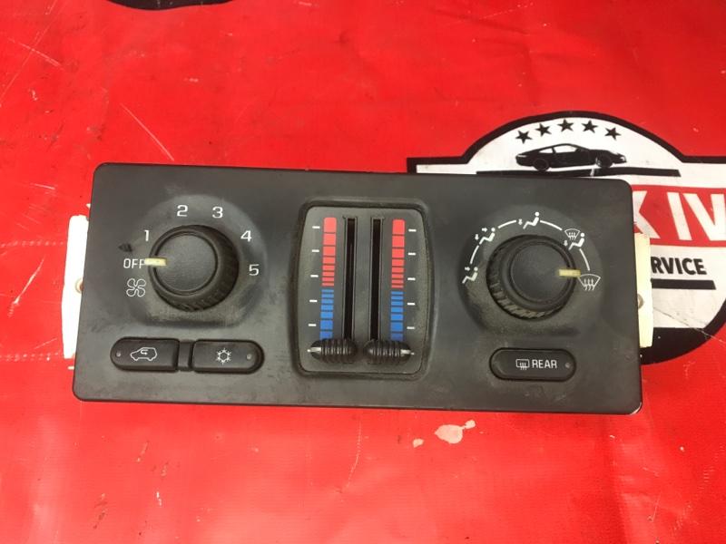 Блок управления климат контролем Chevrolet Trailblazer GMT360 2003