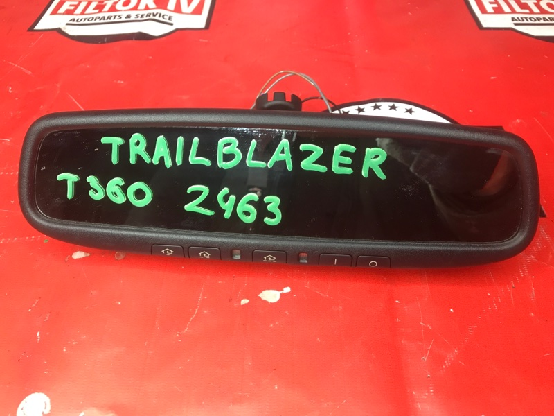 Зеркало заднего вида салонное Chevrolet Trailblazer GMT360 2003