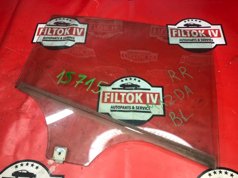 Стекло боковое Mazda Mazda3 BL LFVE 2009 заднее правое